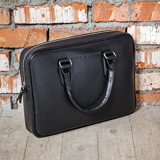 MASSIMO NERO кожаная деловая сумка GianfrancoBonaventura
