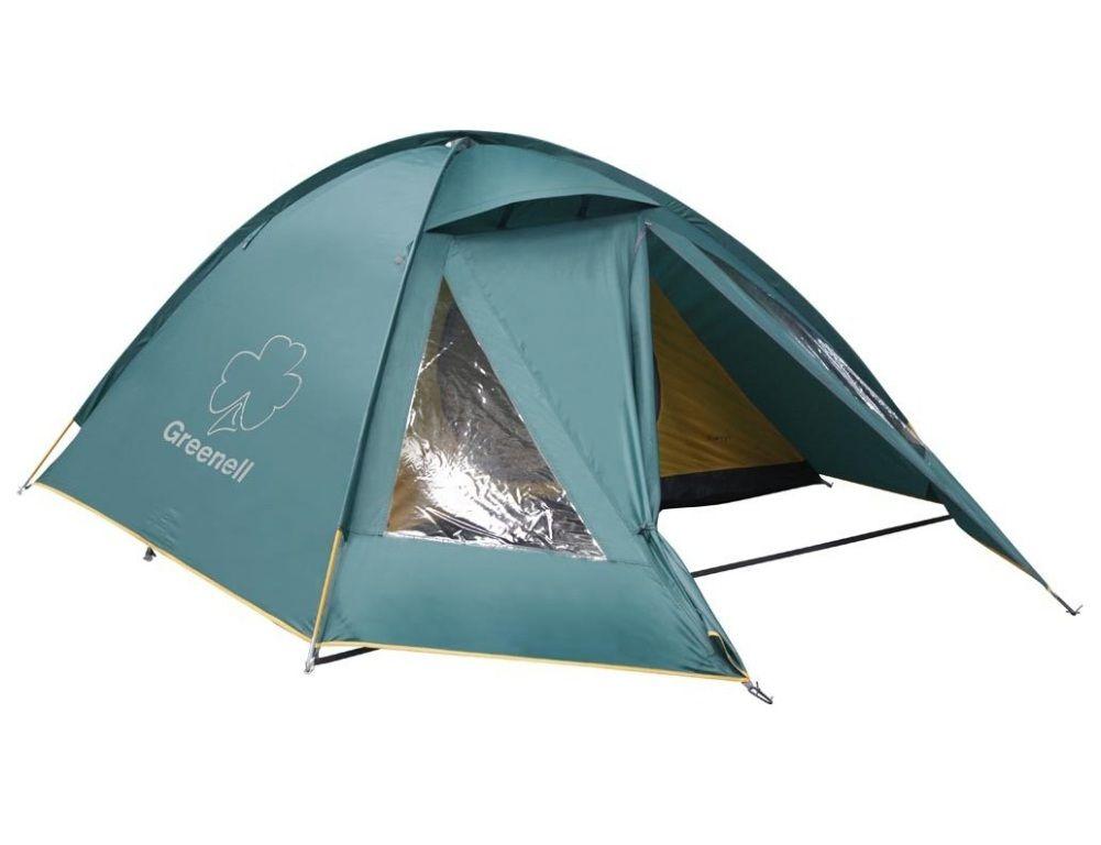 GREENELL КЕРРИ 3 V2 трёхместная кемпинговая палатка