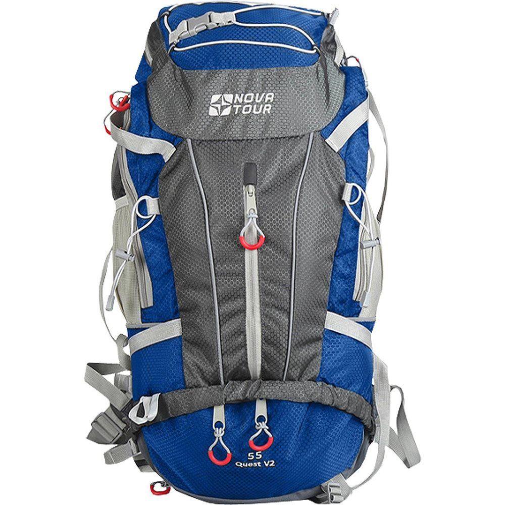 NOVA TOUR КВЕСТ 55 V2 компактный туристический рюкзак
