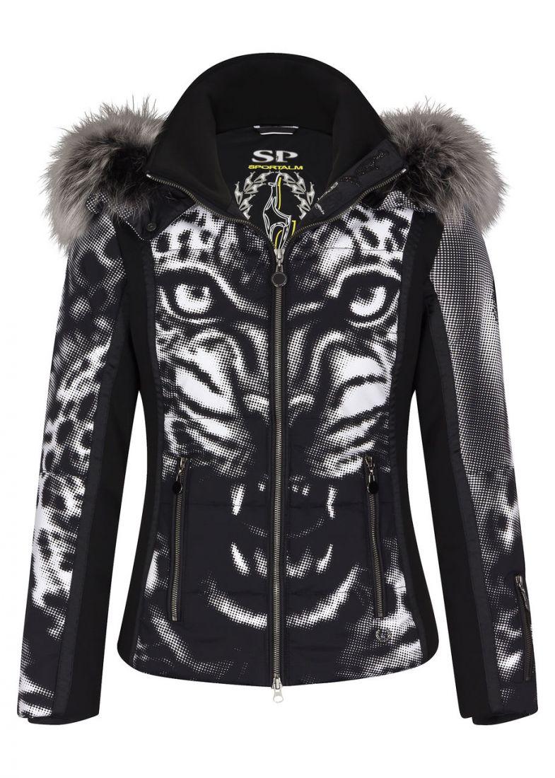 Sportalm Wild Team mit Kapuze + Pelz женская горнолыжная куртка