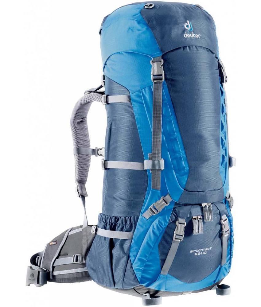 Deuter Aircontact Aircontact 65L + 10L midnight-ocean туристический рюкзак