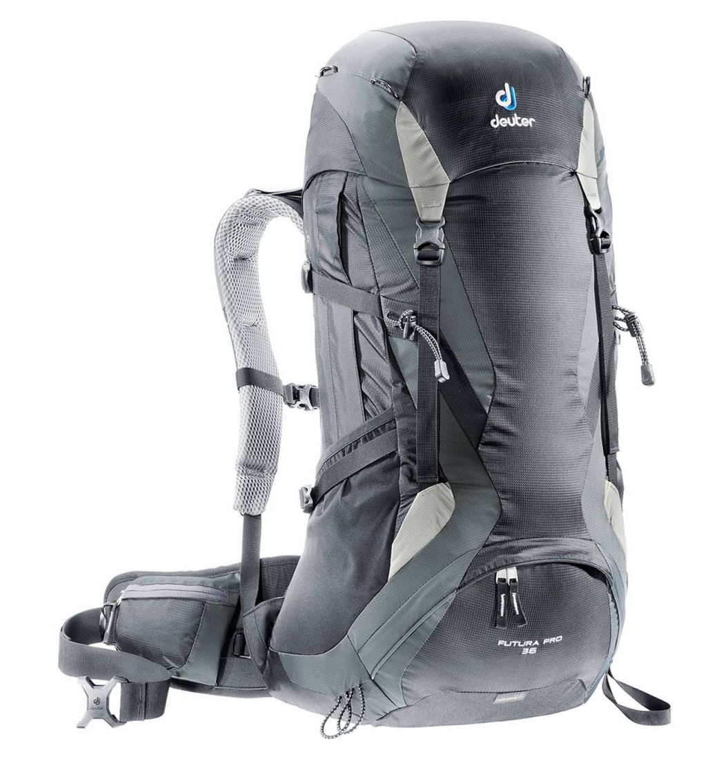 Deuter Aircomfort Futura Futura Pro 36L black-granite универсальный рюкзак