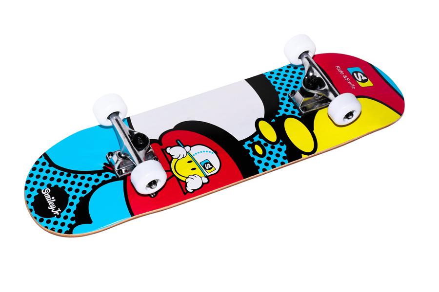 FUN4U SMILEY COMIC детский скейтборд