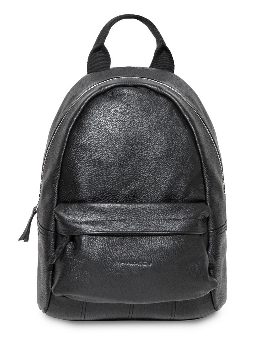 HADLEY CITY BLACK кожаный рюкзак