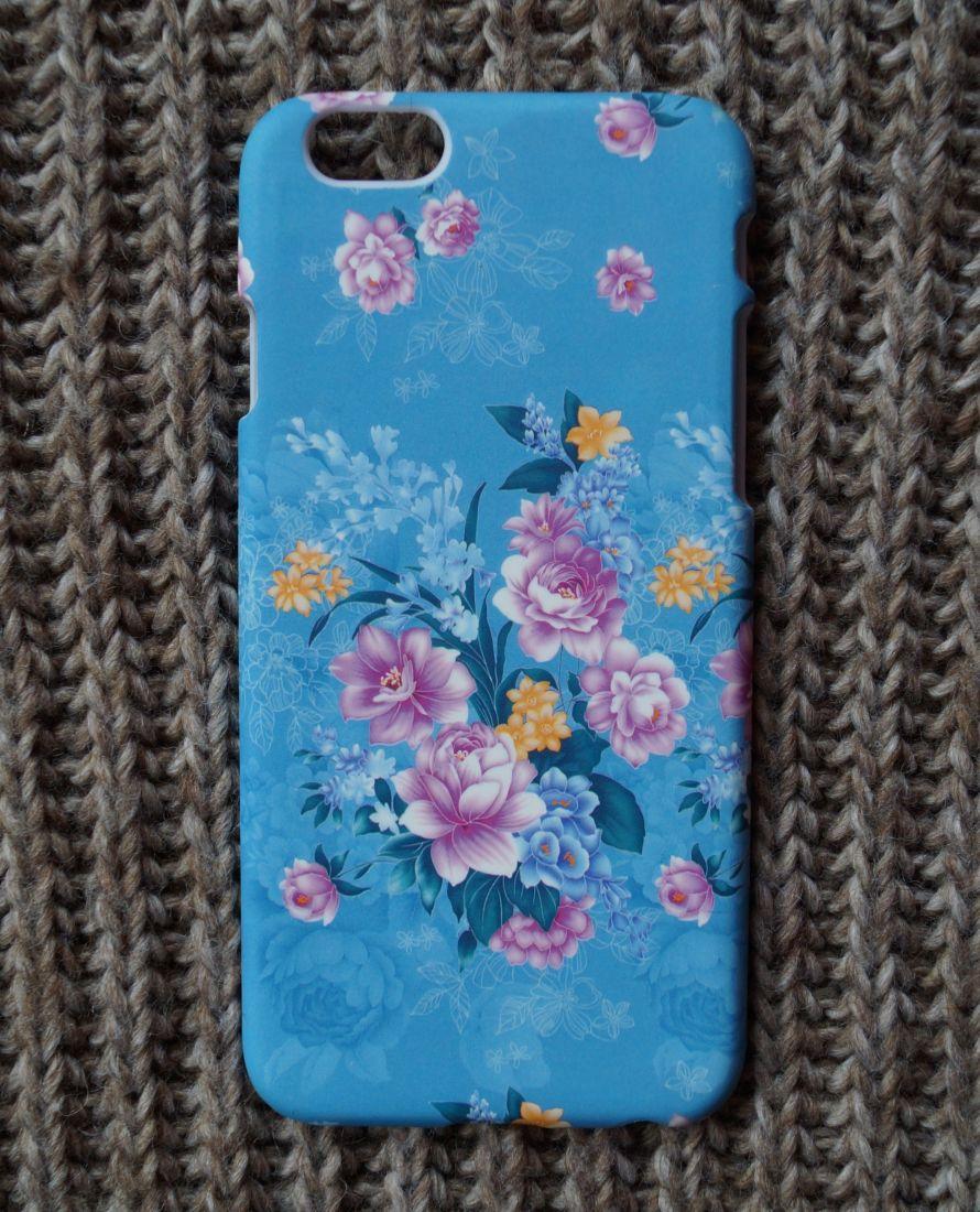 Чехол для Apple iPhone 6/6s Цветы 2